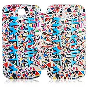 WQQ Teléfono Móvil Samsung - Carcasas de Cuerpo Completo - Dibujos Animados - para Samsung S4 I9500 ( Multi-color , Cuero PU )