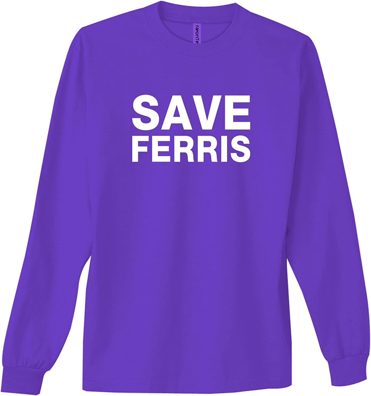 zerogravitee Save Ferris Adult Hooded Sweatshirt