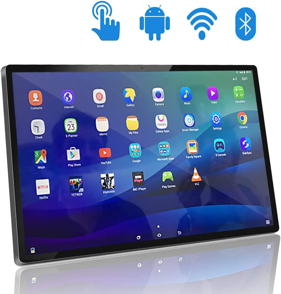 Wisepoch 24 inch Touch Screen Android Tablet PC, 24 inches Smart Home Android TV with 1920x1080 HDMI Output, WiFi Bluetooth LAN, 2.0MP from Camera