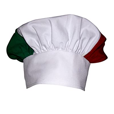 CHEFSKIN Baby Toddler Italian Italy Mushroom Chef HAT Adjustable Pizza Italian: Toys & Games