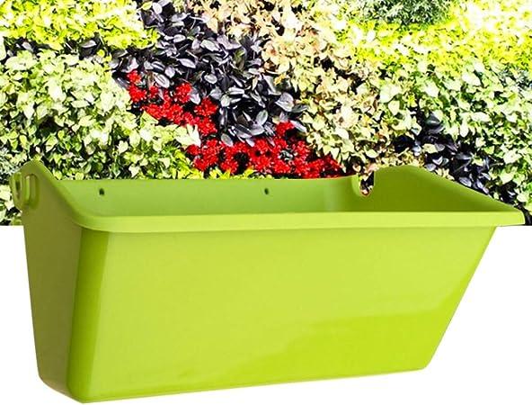 Suszian Jardinera para Colgar en la Pared, Jardinera Vertical para jardín Caja de Flores para Colgar en la Pared con Gancho para Colgar en la Ventana del balcón Huertos: Amazon.es: Hogar