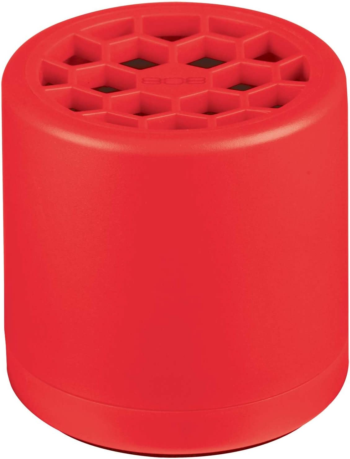 10 Audio SP10RDP Portable Bluetooth Speaker - Red Thump Hex Design from