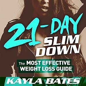 21-Day Slim Down Audiobook