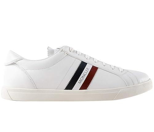 big sale 666cf 21513 Moncler Sneakers Scarpe Uomo in Pelle Modello LA Monaco ...