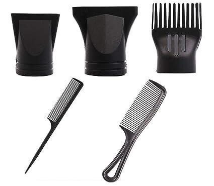 1 juego (5 piezas), juego de boquillas de repuesto para secador de pelo