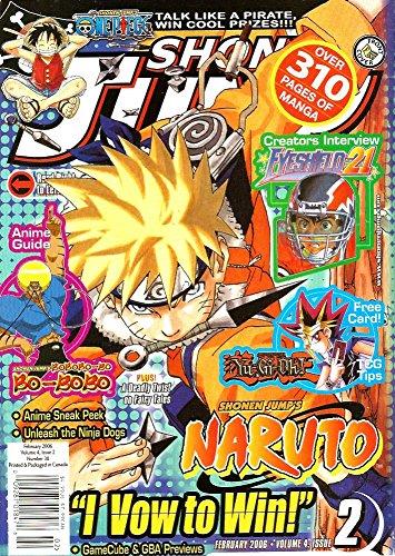 Shonen Jump, Vol. 4, Issue 2 (February, 2006)