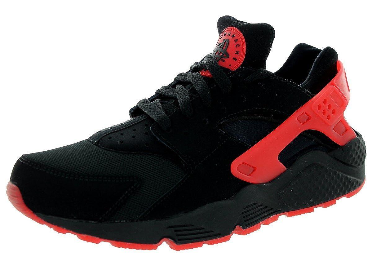 best service 0ec26 45a83 Amazon.com  Nike Mens Air Huarache Qs BlackUniversity Red Running Shoe  Men  Road Running