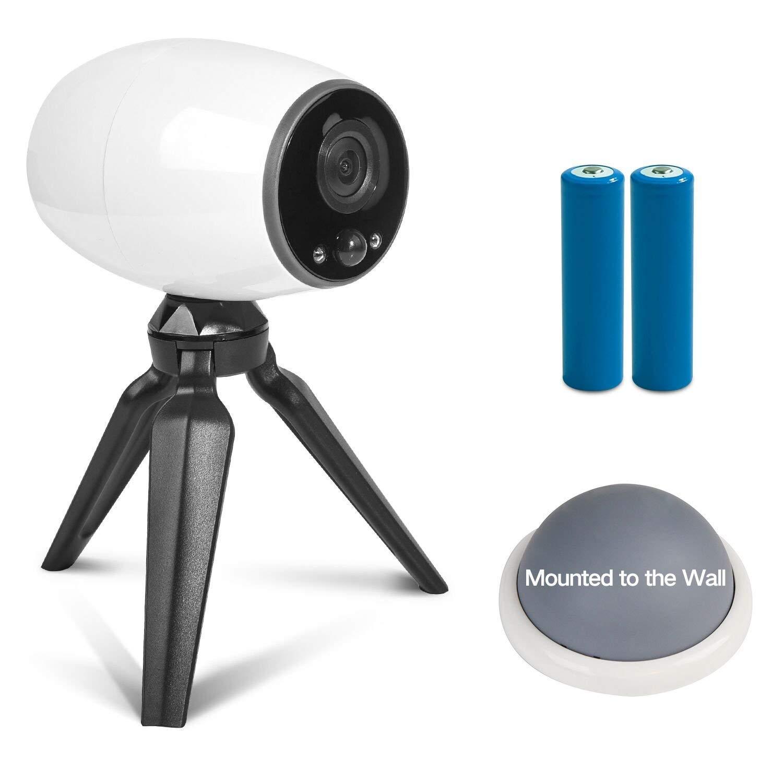 L@CR Drahtlose IP-Kamera 720P Home Security WiFi-Überwachungs System mit KostenLosem Cloud-Speicher, NachtSicht, fern Ansicht und 2-Wege-Audio für Zuhause Büro Baby PET-Monitor für IOS Android