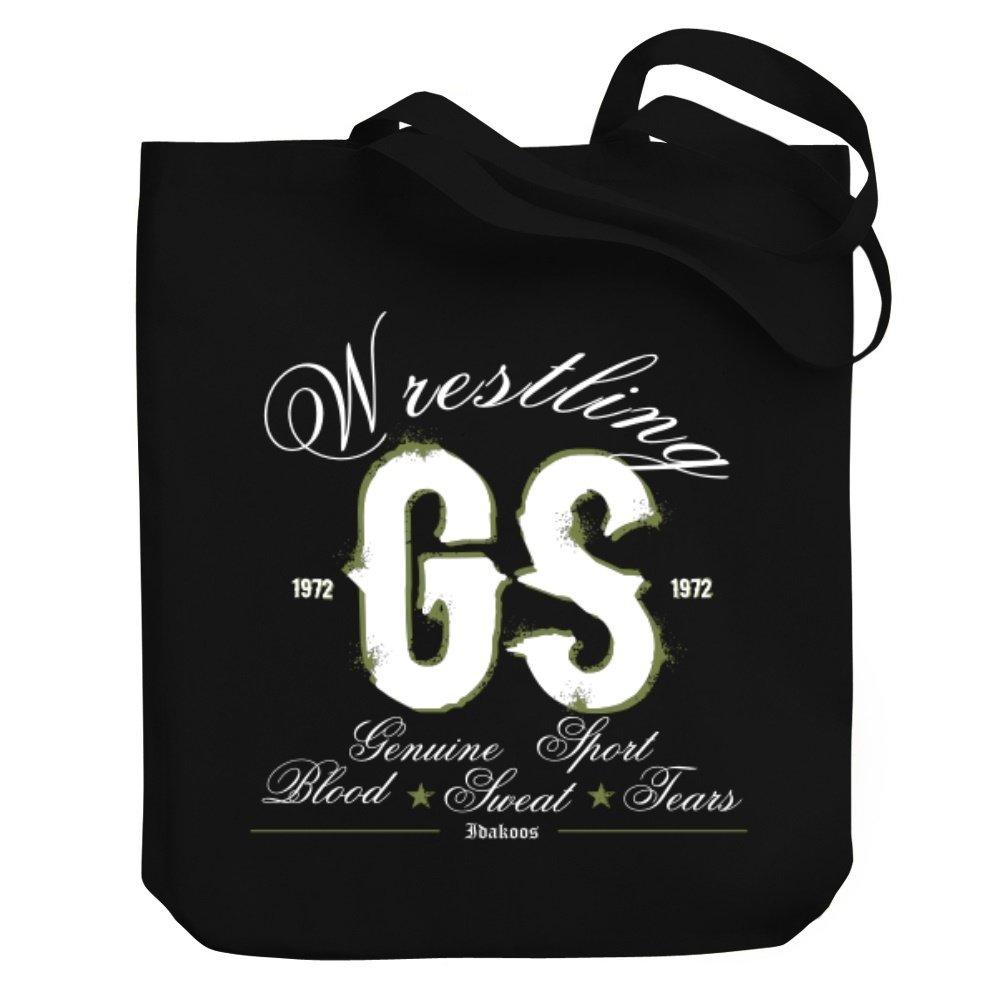 Teeburon Wrestling GENUINE SPORT Canvas Tote Bag