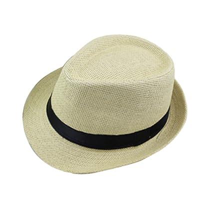 Youkara Modelos Adultos Sombrero de Lnglaterra Sombreros de Sombrero de Playa Masculina Sombrero de Jazz (