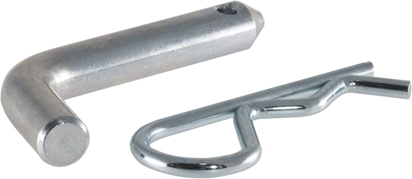 Zinc-Plated Cotterless Hitch Pin 1//4 in x 1-1//4 in