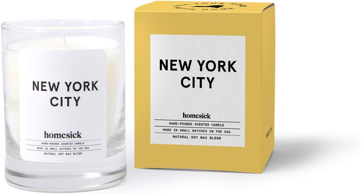 Home 1.5 oz Beach Cottage HSCA1-COT-MINI-WH01 10 to 12 hr Burn Time Homesick Mini Scented Candle