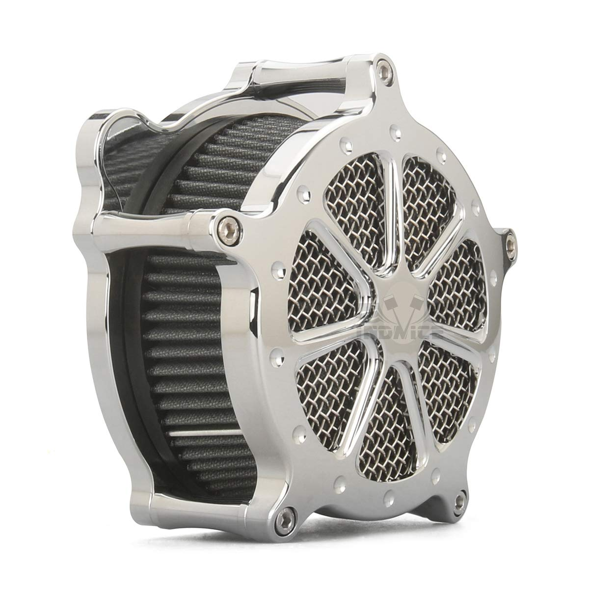 CHROMED AIR CLEANER INTAKE COVER for harley IRON 883 sportster 1991-2019 air filters sportster 883 1200