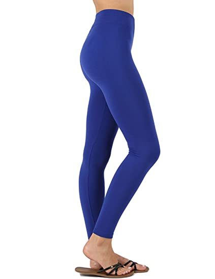 79557bde347 KOGMO Womens Premium Warm Fleece Lined Leggings with High Waist (Multi  Colors)-S