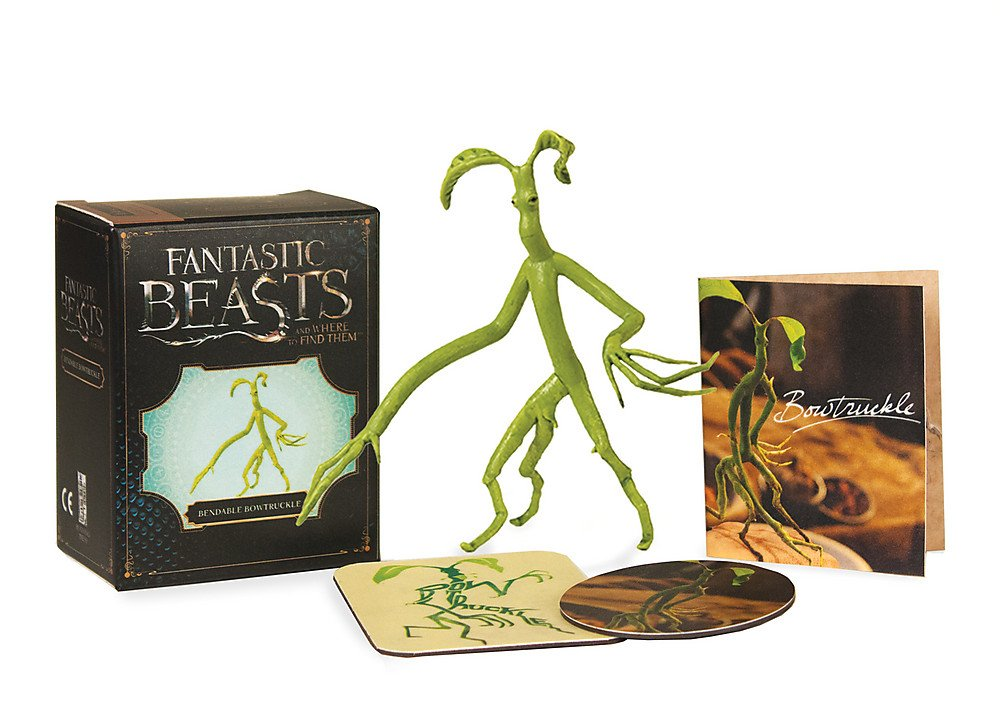 Fantastic Beasts and Where to Find Them: Bendable Bowtruckle (Miniature Editions) (Englisch) Karten – 3. April 2018 Running Press 0762460733 empfohlenes Alter: ab 3 Jahre Antiquitäten / Glas