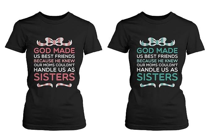 Amazon.com: 365 Printing Best Friend Quote Camisetas – God ...