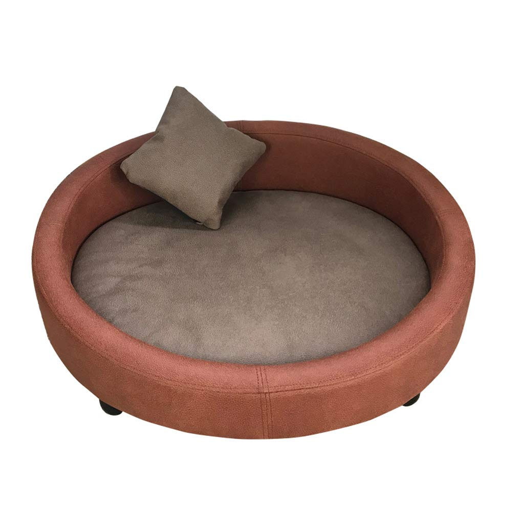 ペット用ベッド犬猫純木の犬小屋の犬のベッド取り外し可能で洗える犬小屋ペットの猫のトイレ砂から離れて大きくて中型の犬用品変形するのは簡単ではありません (色 : B, サイズ さいず : 121x81cm) B07MDK6X6W C 121x81cm 121x81cm|C
