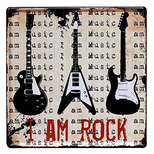 Nafico Decorative Signs Metal Iron Tin Sign Vintage Rock Wall Decoration Art Bar Home Decor 12