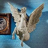 Design Toscano JQ8813 Divine Pegasus Winged Stallion Wall Sculpture