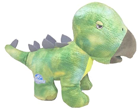 Jurassic World Dinosaurs Plush Soft Toys - Green Stegasaurous