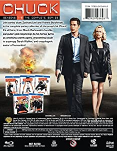 Chuck: Seasons 1 to 5 the Complete Series [Blu-ray] by WarnerBrothers