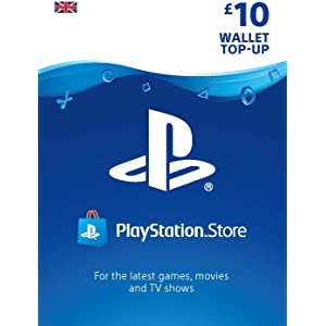 PlayStation PSN Card 10 GBP Wallet Top Up | PSN Download Code - UK account