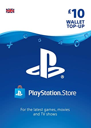 PlayStation PSN Card 10 GBP Wallet Top Up | PSN Download Code - UK