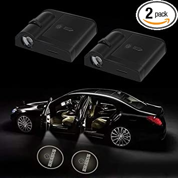 2x TRD Sport Logo LED Door Laser Projector Light For Toyota Venza Tundra Sequoia