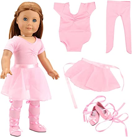 Pink Lace Leggings made for 18 inch American Girl Doll Clothes Accessories