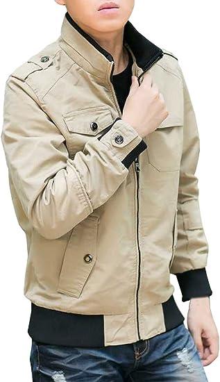 (ネルロッソ) NERLosso ブルゾン メンズ puレザー ジャンパー スタジャン 大きいサイズ 革 ミリタリージャケット ライダースジャケット cmh24105