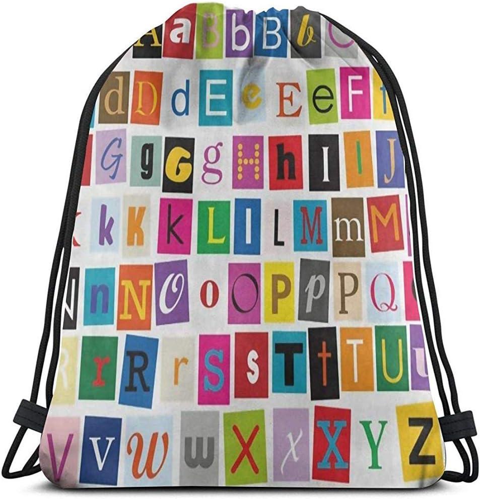 G.H.Y Educación Aprendizaje Educativo Bolsas con cordón Cordón irrompible Cuerda Premium Duradera