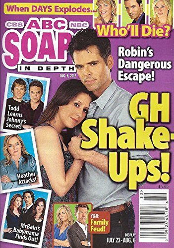 Jason Thompson & Kimberly McCullough (General Hospital) l Jeff Branson l Ronn Moss - August 6, 2012 ABC Soaps In Depth