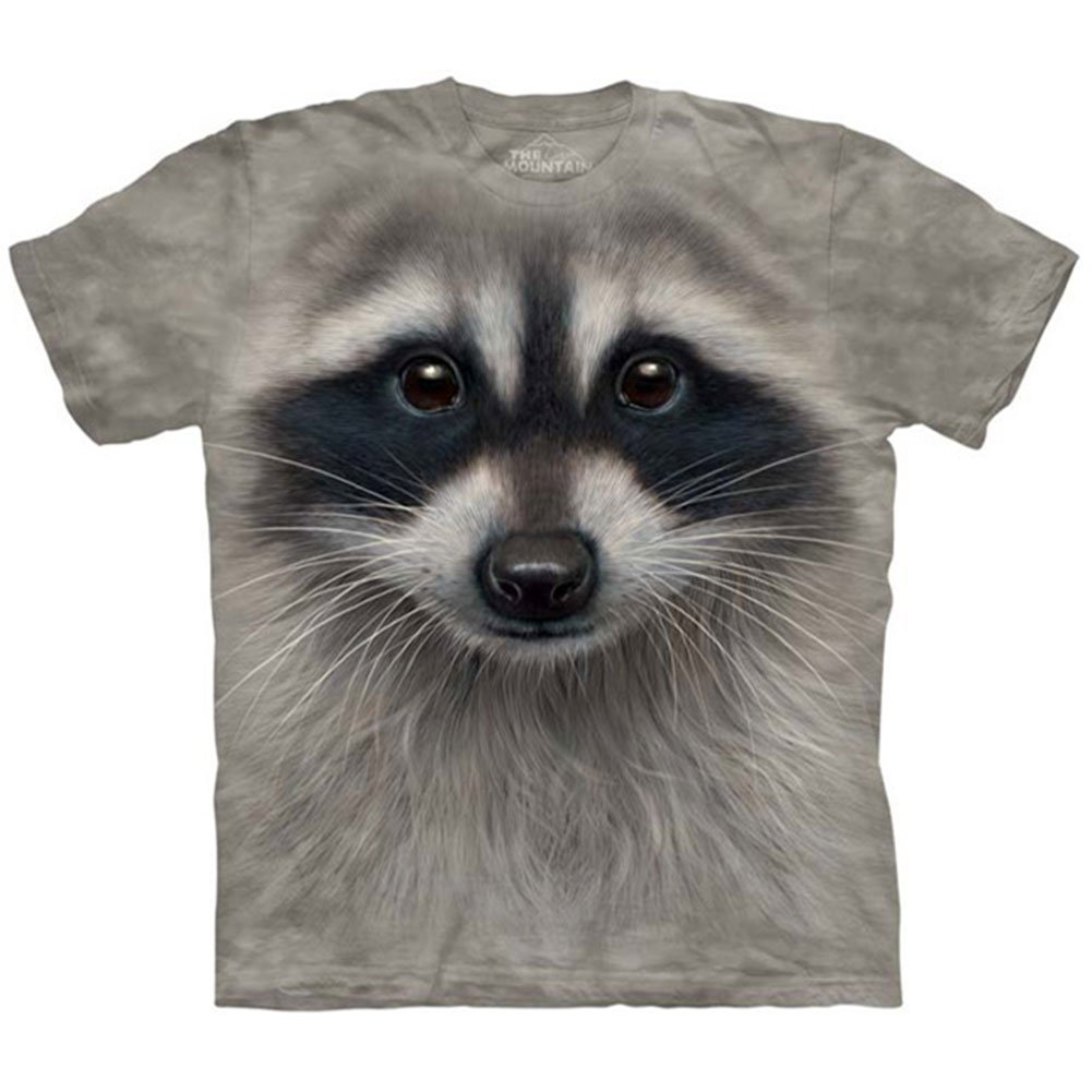 The Mountain Raccoon Face Kids Tee