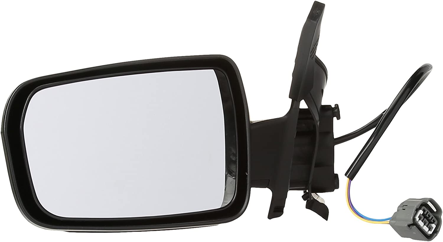 Power Textured Black Passenger Right Side Mirror for 2004-2012 Mitsubishi Galant
