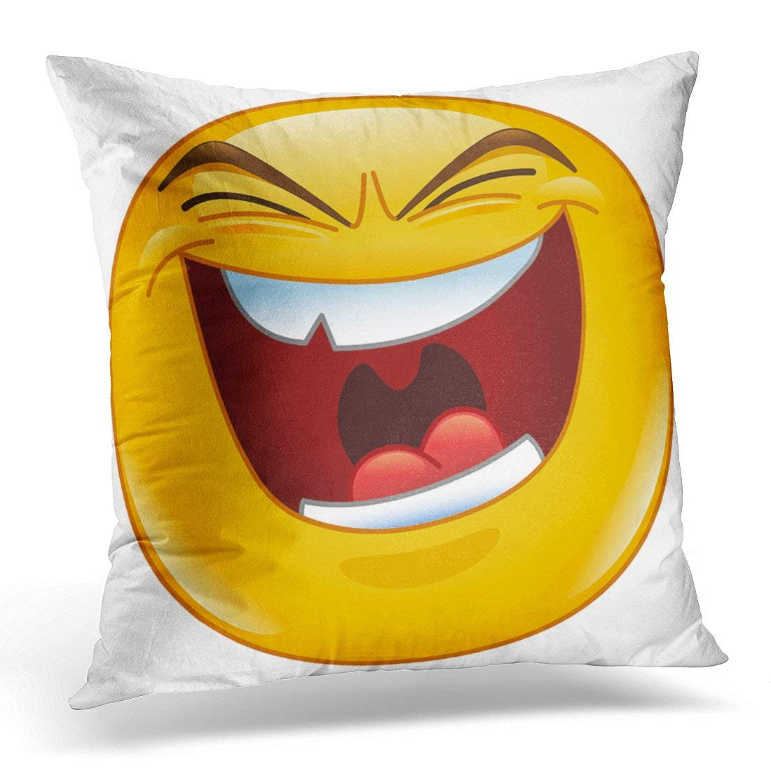 Amazon com: Jbralid Yellow Emoji Emoticon with Evil Laugh