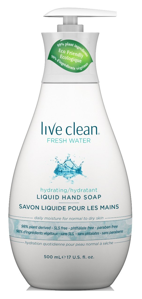 Live Clean Fresh Water Moisturizing Liquid Hand Soap 65743321126