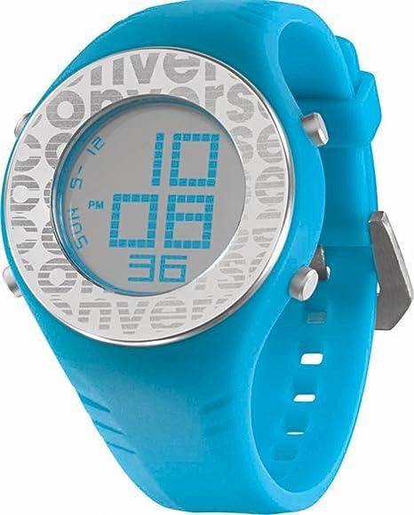 Converse Reloj Digital para Unisex de Cuarzo con Correa en Silicona 25758: VR7-46: Amazon.es: Relojes