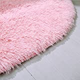 YOH Fluffy Pink Area Rugs for Bedroom Girls Rooms