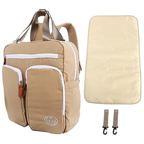 KF Baby mas – Mochila de viaje bolsa de pañales, + Cambiador Value Combo Set