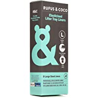 Rufus And Coco Elasticised Litter Tray Liners Large