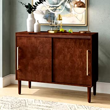 Amazoncom Highboard Sideboard Mahogany Cabinet Tv