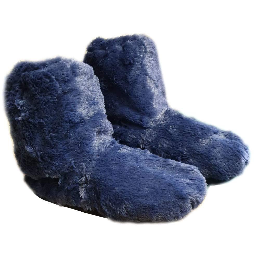 Zapatillas de pelo para mujer, se calientan en microondas, talla de la 37 a la 40,5