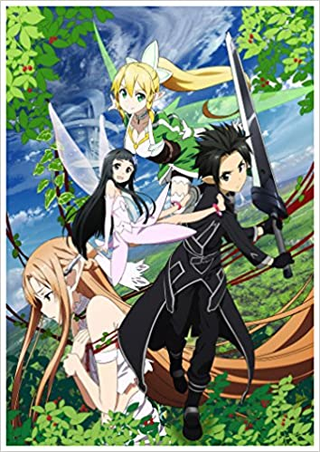 Calendrier Manga 2020.Anime Calendrier Mural 2020 12 Pages 20x30cm Sword Art