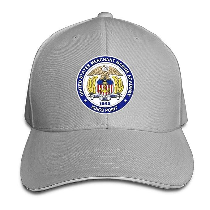 29c4e0a8506 US Merchant Marine Academy Kings Point Youth Baseball Cap Retro Peaked  Trucker Cap