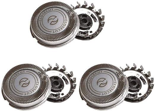 Dreameryoly Cuchillas de Repuesto para afeitadora de 3 Piezas para Philips SH30 S311 300 301 321 510 511 520: Amazon.es: Hogar