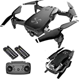 DRONE-CLONE XPERTS Drone X Pro AIR 4K Ultra HD Dual Camera FPV WiFi Quadcopter Follow Me Mode Gesture Control 2 Batteries Inc