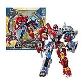 Biklonz Mega Beast Cross Attacker (Direwolf+sabertooth) /Transformer Robot Toy / Action Figure