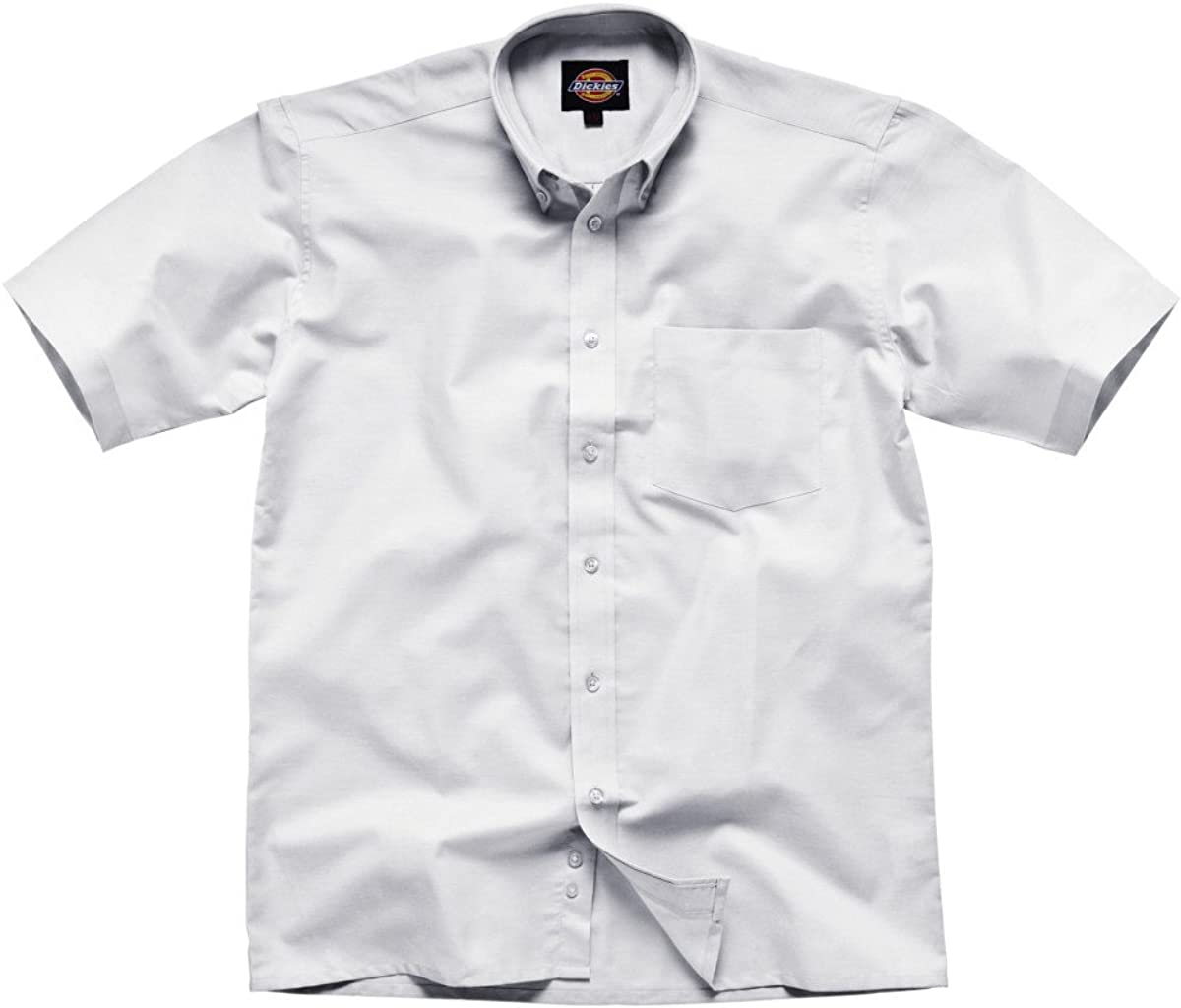 Dickies Office Work Short Sleeve Cotton//Polyester Formal Oxford Shirt SH64250