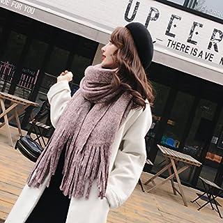 XBR - sciarpe di Lana Scialle Studenti Amanti in Caldo Lana Clip Fiore Sciarpa.