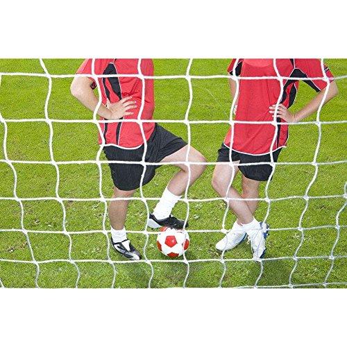 Vbestlife Soccer Goal Net, Full Size Football Soccer Net Sports Replacement Soccer Goal Post Net for Training Practice Match Training (64ft)